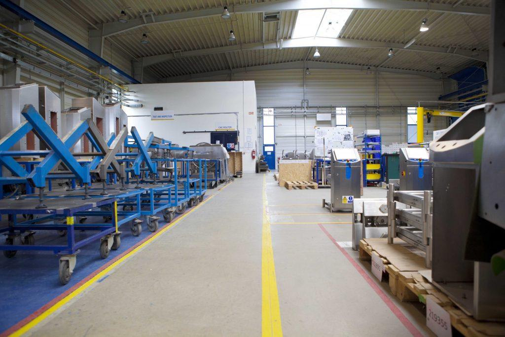 Inside a Lean Warehouse Facility