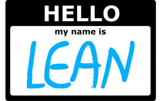 Lean Name tag for Creative Safety Supply blog post